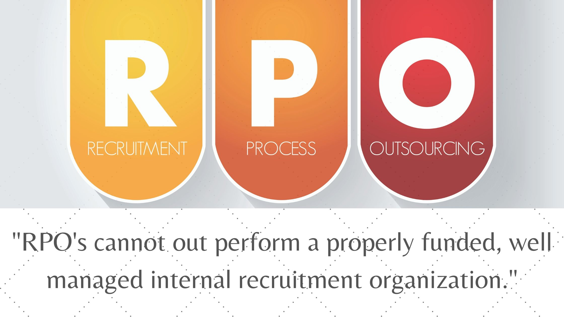 Why RPO's don't solve all your Recruitment Programs